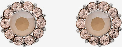 LILY AND ROSE Earrings 'Miss Sofia' in Beige / Powder / Silver, Item view