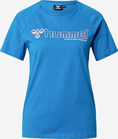 Hummel T-Shirt 'Zenia' in royalblau / rosa, Produktansicht