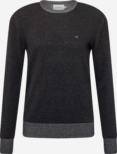 Calvin Klein Sweatshirt in dunkelgrau / schwarz, Produktansicht