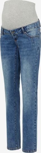 MAMALICIOUS Jeans 'Aurora' i blå denim / gråmelerad, Produktvy