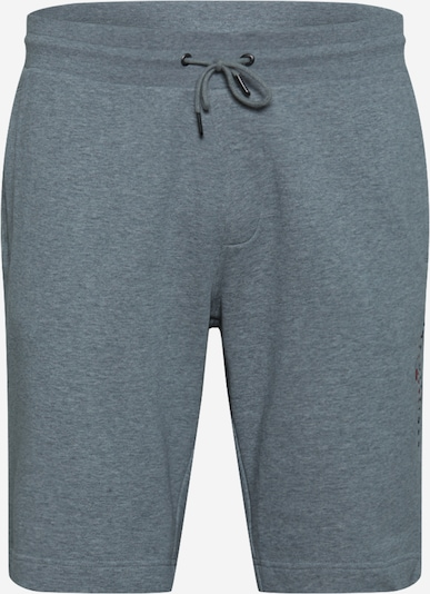 TOMMY HILFIGER Nohavice - námornícka modrá / sivá melírovaná / svetločervená / biela, Produkt