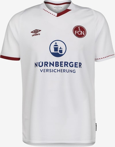 UMBRO Tricot '1. FC Nürnberg' in de kleur Blauw / Bloedrood / Wit, Productweergave