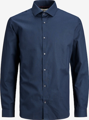 JACK & JONES Business shirt in Blue