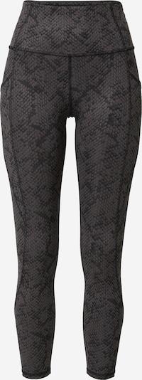 Marika Sporthose 'SIA' in schlammfarben / schwarz, Produktansicht