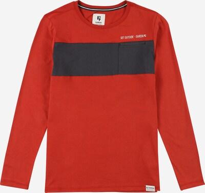 GARCIA Shirt in rot / schwarz / weiß, Produktansicht