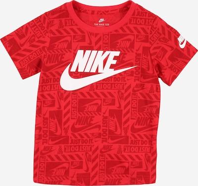 Nike Sportswear T-Shirt in rot / dunkelrot / weiß, Produktansicht