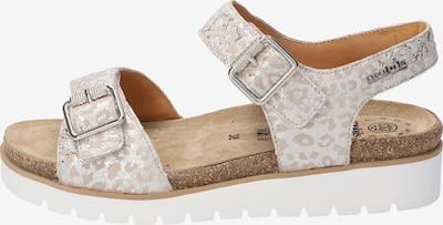 MOBILSergonomic Sandale 'TARINA' in beige, Produktansicht