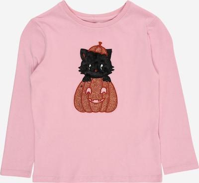 Cotton On Shirt 'Stevie' in gold / dunkelorange / rosa / schwarz / weiß, Produktansicht
