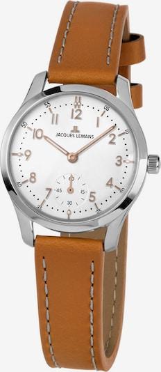 Jacques Lemans Uhr in hellbraun / silber, Produktansicht