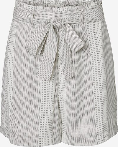Pantaloni con pieghe 'Dicthe' VERO MODA di colore grigio chiaro / nero, Visualizzazione prodotti