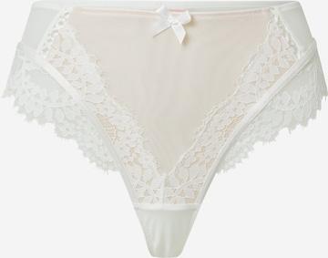Hunkemöller String 'Leyla' in Weiß