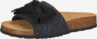 SHEPHERD OF SWEDEN Hausschuh in schwarz, Produktansicht