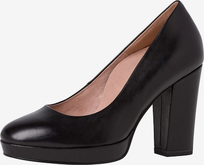 Tamaris Heart & Sole Pumps in schwarz, Produktansicht
