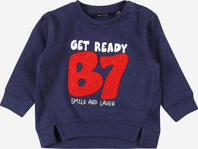 BLUE SEVEN Sweatshirt in marine / rot / weiß, Produktansicht