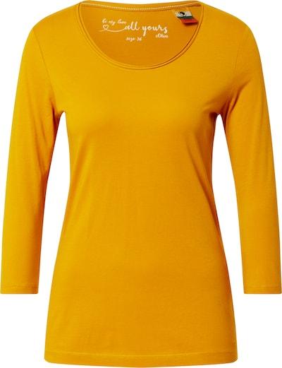 s.Oliver Shirt in senf, Produktansicht