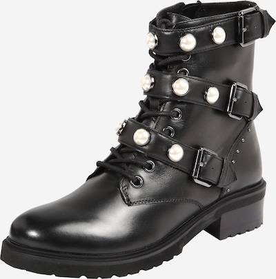 Steven New York Lace-up bootie 'Thunder' in Black, Item view