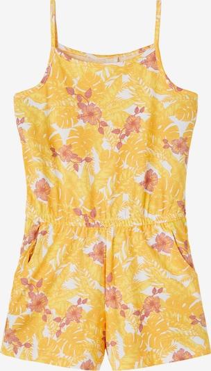Salopetă 'Vigga' NAME IT pe galben / rosé / alb, Vizualizare produs