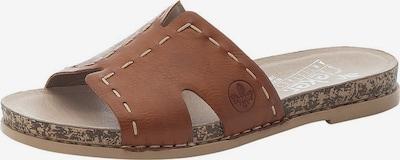 RIEKER Pantofle - hnědá, Produkt
