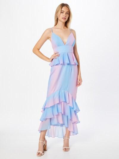Chi Chi London Kleid in blau / pink, Modelansicht