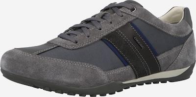 GEOX Sneaker 'WELLS' in blau / anthrazit / dunkelgrau, Produktansicht