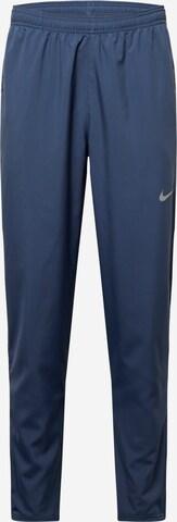 Pantaloni sport de la NIKE pe albastru