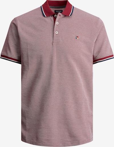 JACK & JONES Shirt in de kleur Donkerblauw / Rood / Wit, Productweergave