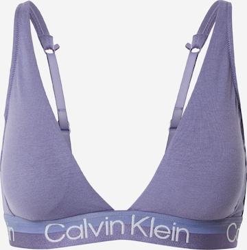 Sutien de la Calvin Klein Underwear pe albastru