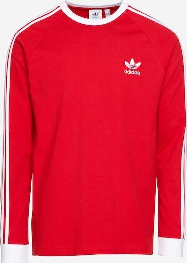 piros / fehér ADIDAS ORIGINALS Póló '3-Stripes', Termék nézet