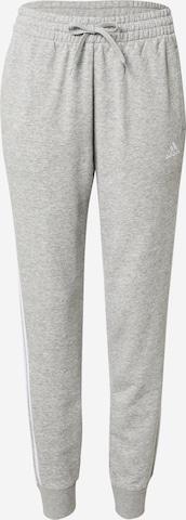 ADIDAS PERFORMANCE Спортен панталон в сиво