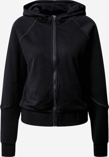 ONLY PLAY Sportief sweatvest 'NYLAH' in de kleur Zwart / Wit, Productweergave