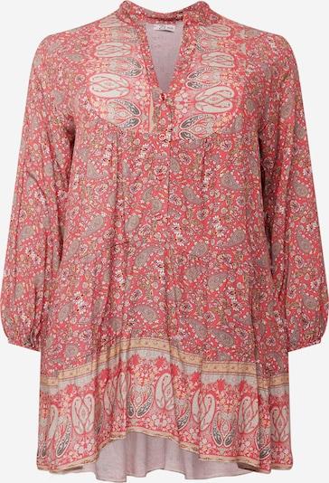 Z-One Kleid in mischfarben / koralle, Produktansicht