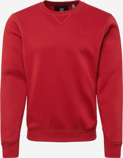 Bluză de molton G-Star RAW pe roșu, Vizualizare produs