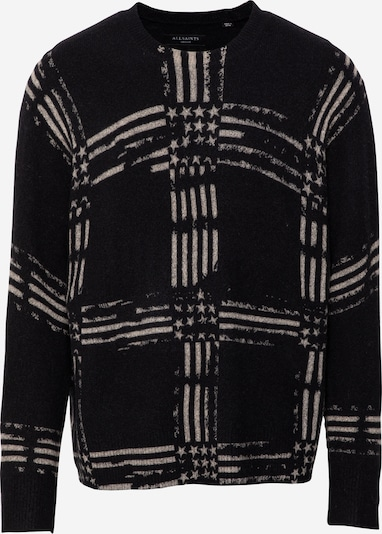 AllSaints Пуловер в Грейдж / черно, Преглед на продукта