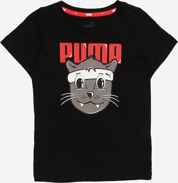 PUMA T-shirt i svart