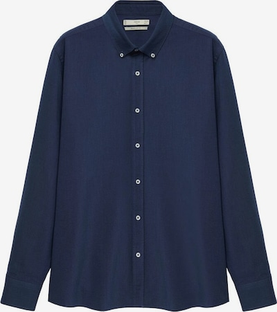 MANGO MAN Hemd 'Oxford' in navy, Produktansicht