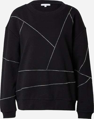 PATRIZIA PEPE Sweat-shirt 'FELPA' en noir / transparent, Vue avec produit