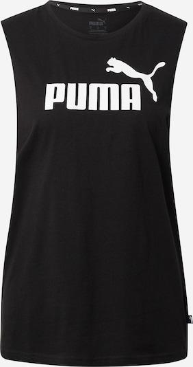 PUMA Sporttopp i svart / vit, Produktvy