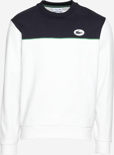 LACOSTE Sweatshirt in de kleur Nachtblauw / Jade groen / Wit, Productweergave