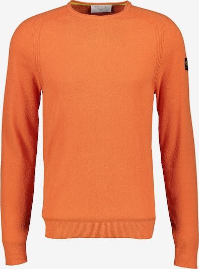NEW IN TOWN Rundhalspullover mit Raglanarm in orange, Produktansicht