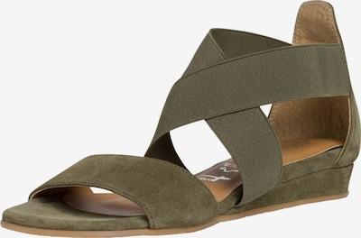 TAMARIS Sandale in oliv, Produktansicht