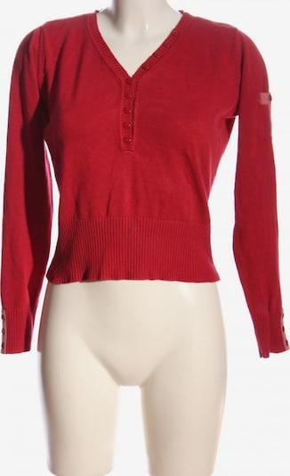 Wissmach V-Ausschnitt-Pullover in S in rot, Produktansicht