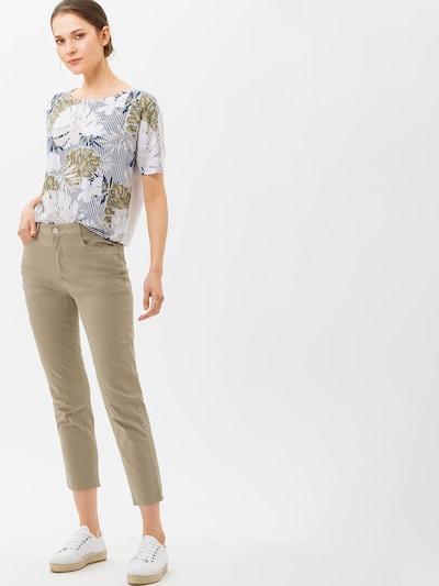 BRAX Kalhoty 'STYLE.MARY S' - zelená, Model/ka