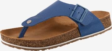 HAFLINGER Zehentrenner 'Conny' in Blau