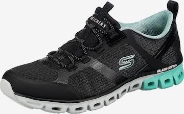 Sneaker low 'Dashing days' de la SKECHERS pe negru