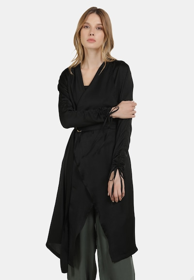 DreiMaster Vintage Mantel in schwarz, Modelansicht