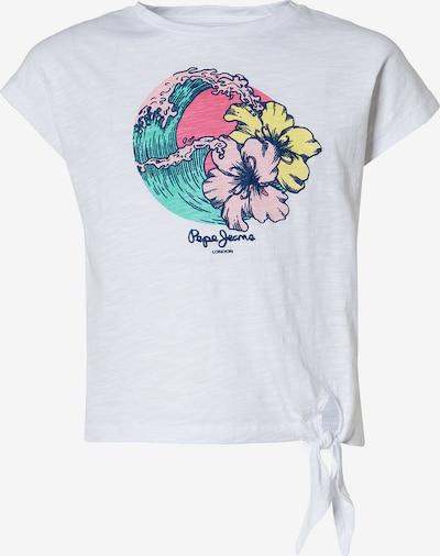 Pepe Jeans Shirt 'Alexandra' in mischfarben / weiß, Produktansicht