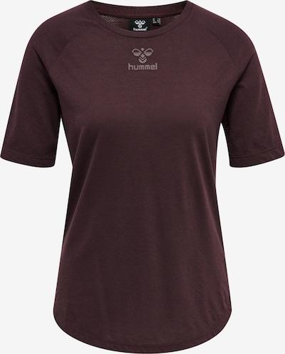 Hummel Shirt 'S/S' in burgunder, Produktansicht