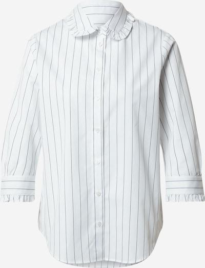 Bluză SEIDENSTICKER pe negru / alb, Vizualizare produs