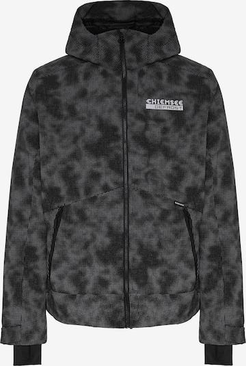 CHIEMSEE Outdoorjacke 'THREDBO' in grau / schwarz, Produktansicht