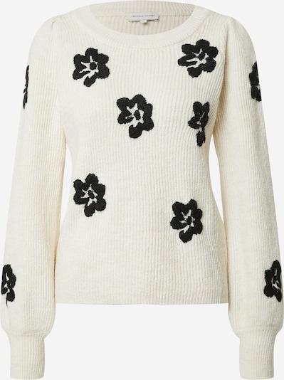 Fabienne Chapot Pullover in schwarz / naturweiß, Produktansicht